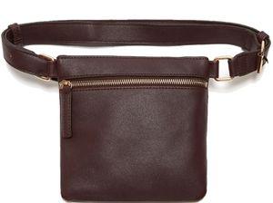 Lulu Dharma vegan leather belt bag